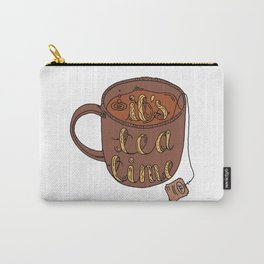 IT'S TEA TIME Carry-All Pouch