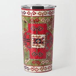 Sevan Kazak Southwest Caucasus Rug Print Travel Mug