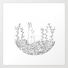 conejo Art Print