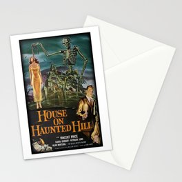 House on Haunted Hill Stationery Cards