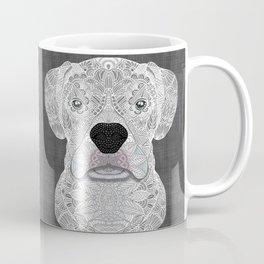 White Boxer Coffee Mug