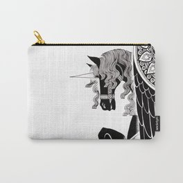 one winged unicorn Carry-All Pouch