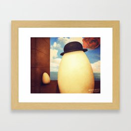 Portrait Of An eGG II Framed Art Print