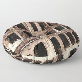 Mile-Long Barracks Floor Pillow
