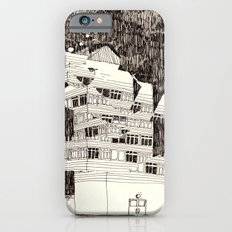 Deconstructed Buildings at Night iPhone 6s Slim Case
