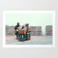 Centro Quito Art Print