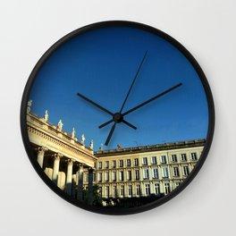Grand théâtre de Bordeaux 9- Outside Wall Clock