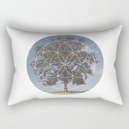 Free Tree Hugs - Geometric Photography Rectangular Pillow