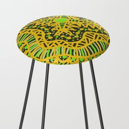 Doodle 16 Yellow Counter Stool