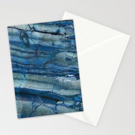 Ocean Depths Blue Marble Stationery Cards