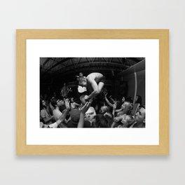Hardcore Lives Framed Art Print