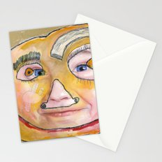 I feel loved Stationery Cards