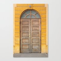 real madrid Canvas Prints featuring Madrid Door by Diego Tirigall