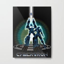 CyberTRON (G1 Optimus Prime Transformers TRON)  Metal Print
