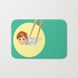 Sushi boy Bath Mat