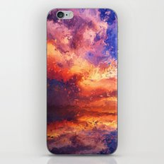 Sunset Abstraction iPhone & iPod Skin