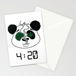 4:20 Panda (4/20 Edition) Stationery Cards