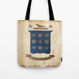 Coffin Crest Tote Bag