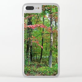 Inflexible Perceptions Clear iPhone Case