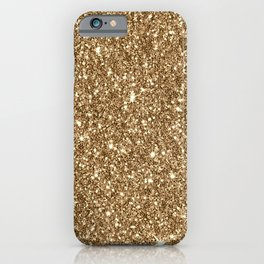 Sparkling Glitter Print H iPhone Case