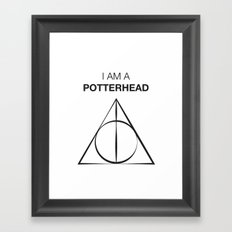 I am a Potterhead Framed Art Print
