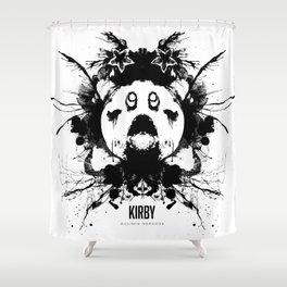 Kirby Ink Blot Geek Psychological Disorders Shower Curtain