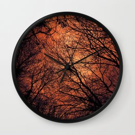The Enchanted Forest 2 Wall Clock