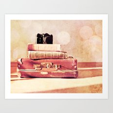 Still Life With Portmanteau Art Print