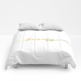 Golden beauty Comforters