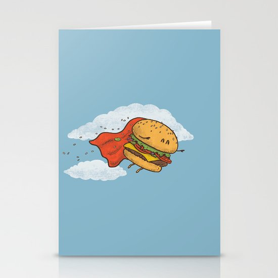 Superburger! Stationery Cards