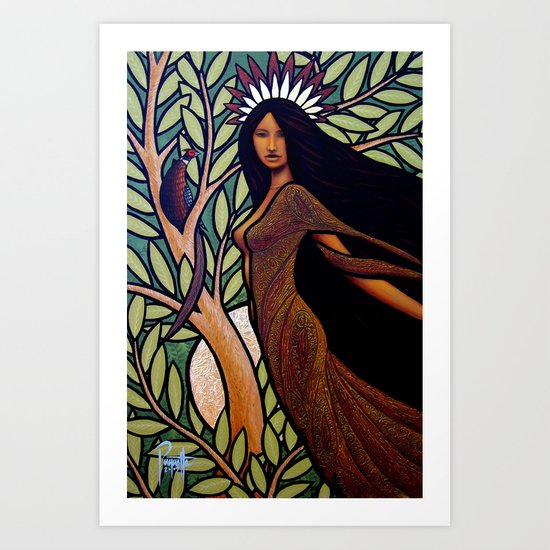 Evening Art Print