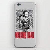walking dead iPhone & iPod Skins featuring Walking Dead by Matt Fontaine