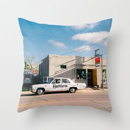 Marfa Hombres II Throw Pillow