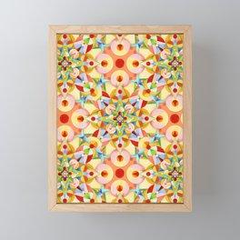 Tangerine Confetti Framed Mini Art Print