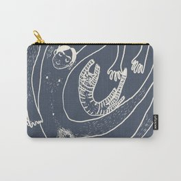 Familienwirbel dark Carry-All Pouch