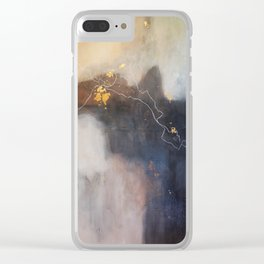 Let It Hold Your Hand Clear iPhone Case