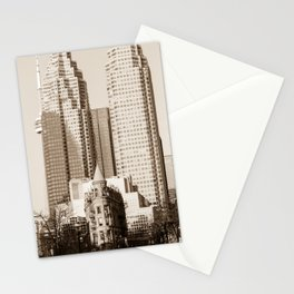 Toronto Flatiron Building Stationery Cards