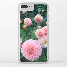 Flower garden Clear iPhone Case