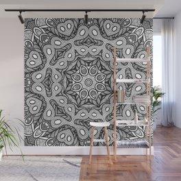 Doodle Mandala Wall Mural