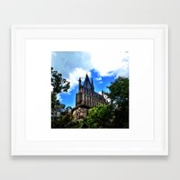 hogwarts Framed Art Prints featuring Hogwarts by Caleb Blank Photography