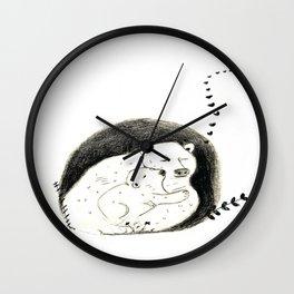 Momma Bear and Baby Wall Clock