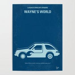 No211 My Waynes World mmp Poster