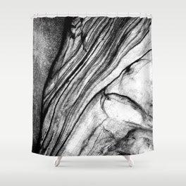 Graymatter Shower Curtain