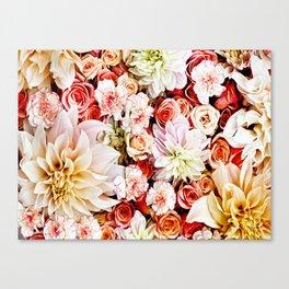 Floral Feature Canvas Print