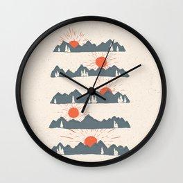 Sunrises... Sunsets... Wall Clock