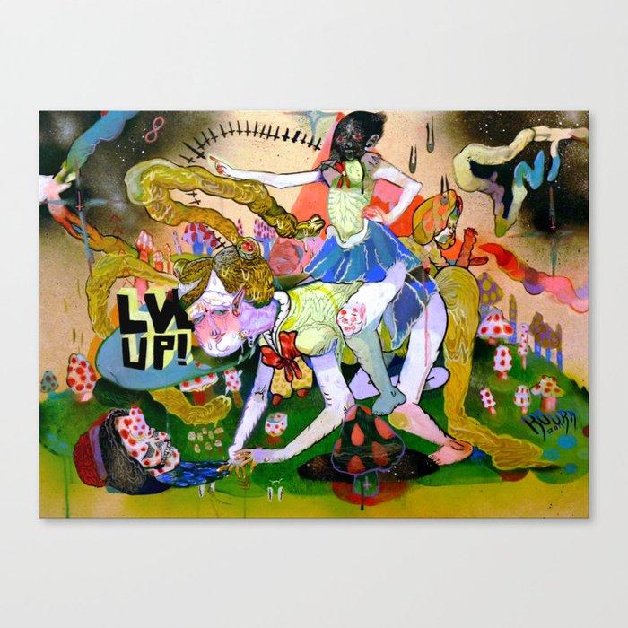 lvl up Canvas Print