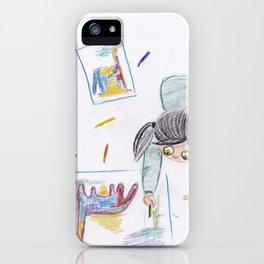 Lala love dinos iPhone Case