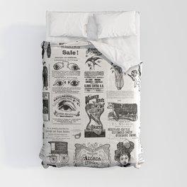 Vintage Victorian Ads Comforters