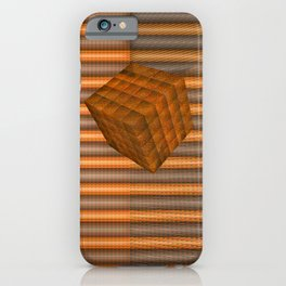 Cubes and jalousie iPhone Case