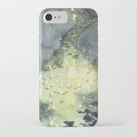 the lights iPhone & iPod Cases featuring Lights by Paola Cocchetto